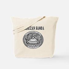 American Samoa Coat Of Arms Designs Tote Bag
