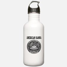 American Samoa Coat Of Arms Designs Water Bottle