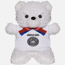 American Samoa Coat Of Arms Designs Teddy Bear