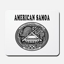 American Samoa Coat Of Arms Designs Mousepad