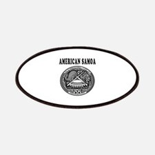 American Samoa Coat Of Arms Designs Patches