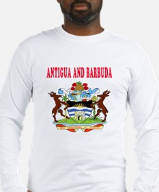 Antigua and Barbuda Coat Of Arms Designs Long Slee