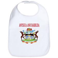 Antigua and Barbuda Coat Of Arms Designs Bib