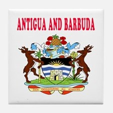 Antigua and Barbuda Coat Of Arms Designs Tile Coas