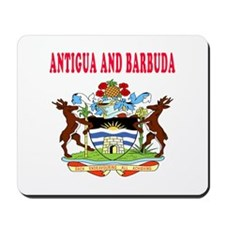 Antigua and Barbuda Coat Of Arms Designs Mousepad