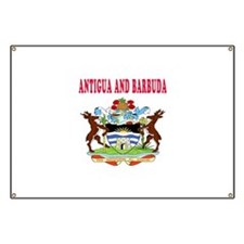 Antigua and Barbuda Coat Of Arms Designs Banner