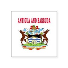 Antigua and Barbuda Coat Of Arms Designs Square St