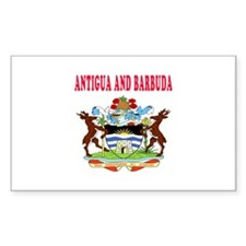 Antigua and Barbuda Coat Of Arms Designs Decal