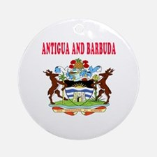 Antigua and Barbuda Coat Of Arms Designs Ornament