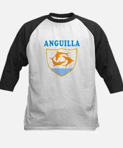 Anguilla Samoa Coat Of Arms Designs Tee