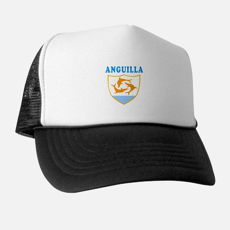 Anguilla Samoa Coat Of Arms Designs Trucker Hat