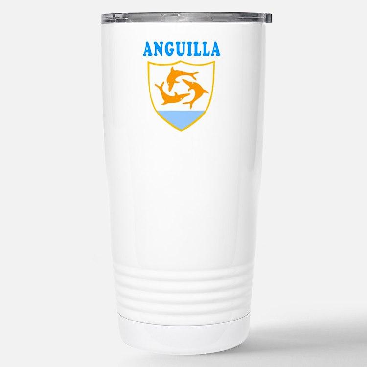 Anguilla Samoa Coat Of Arms Designs Travel Mug