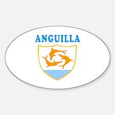 Anguilla Samoa Coat Of Arms Designs Decal