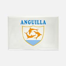 Anguilla Samoa Coat Of Arms Designs Rectangle Magn