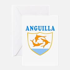 Anguilla Samoa Coat Of Arms Designs Greeting Card