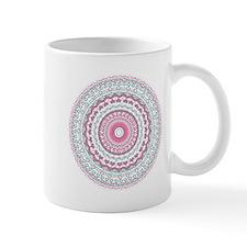Heartfelt Mandala Kaleidoscope Pattern Small Mug