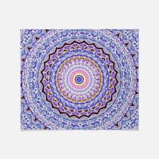Heart Joy Mandala Kaleidoscope Pattern Throw Blank