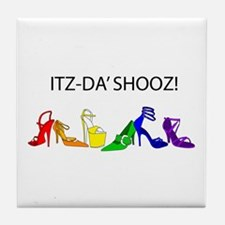 Shooz!!! Tile Coaster