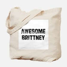 Awesome Brittney Tote Bag