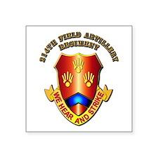 Artillery - 214th Field Artillery Regiment Square