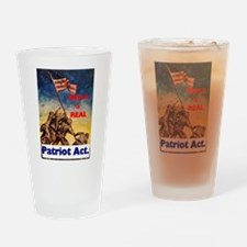 Here's a Real Patriot Act - Iwo Jima Drinking Glas