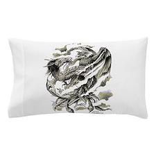 Dragon Phoenix Tattoo Art A4 Pillow Case
