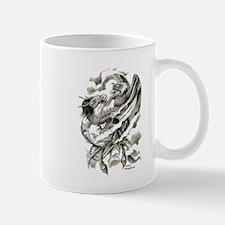 Dragon Phoenix Tattoo Art A4 Mug