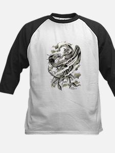 Dragon Phoenix Tattoo Art A4 Baseball Jersey