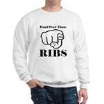 Hand over those ribs Jumper