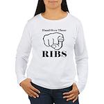 Hand over those ribs Long Sleeve T-Shirt