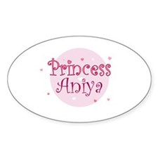 Aniya Oval Decal