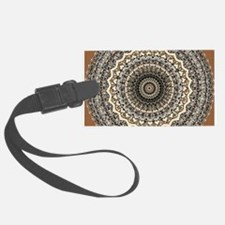Bygone Love Mandala Luggage Tag