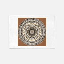 Bygone Love Mandala 5'x7'Area Rug