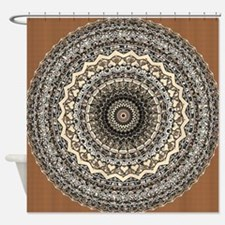 Bygone Love Mandala Shower Curtain