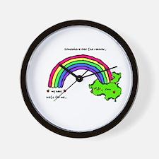 Somewhere Over The Rainbow Wall Clock