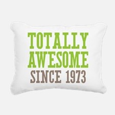 Totally Awesome Since 1973 Rectangular Canvas Pill