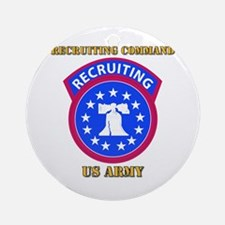 SSI - Army - Recruiting Command with Text Ornament