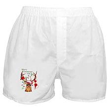 Stag man Christmas Boxer Shorts