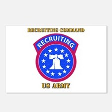 SSI - Army - Recruiting Command with Text Postcard