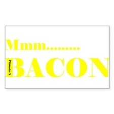 Mmm... Bacon Decal