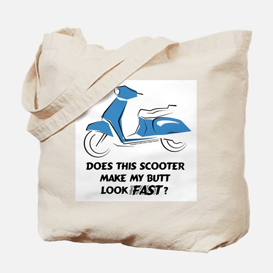 Fast Butt (Blue) Tote Bag