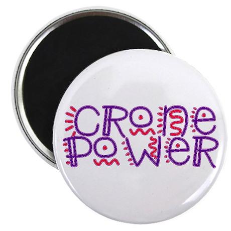 CRONE POWER... Magnet