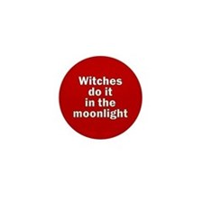 Cute Vegan witches Mini Button