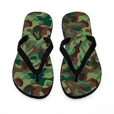 Classic Camo Flip Flops