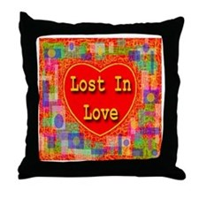 Lost In Love Throw Pillow