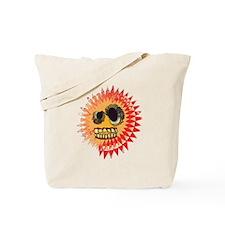 Crazy Sun Tote Bag