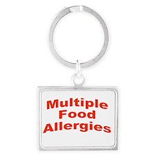 Multiple Food Allergies Keychains