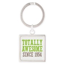 Totally Awesome Since 1954 Square Keychain