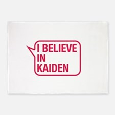 I Believe In Kaiden 5'x7'Area Rug