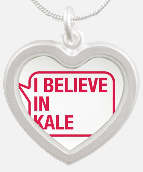I Believe In Kale Necklaces